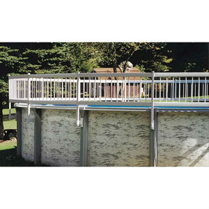 Above Ground Pool Fence protect-a-pool add-on fence kit c for above ground pools