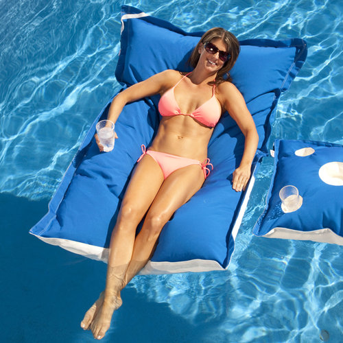 Floating Luxuries Fl22201 Kai Floating Lounge Pacific Blue