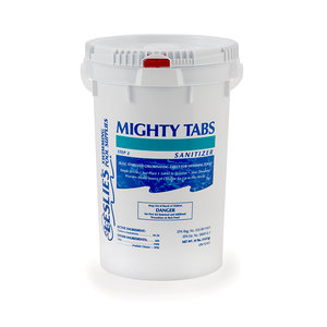 Leslie's Mighty Tabs Slow-Dissolving Trichlor Buckets