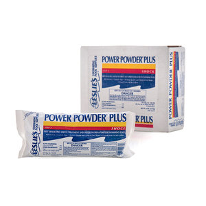 Leslie's Power Powder Plus Flagship Pool Shock and Super-Chlorinator, Multipack Bags