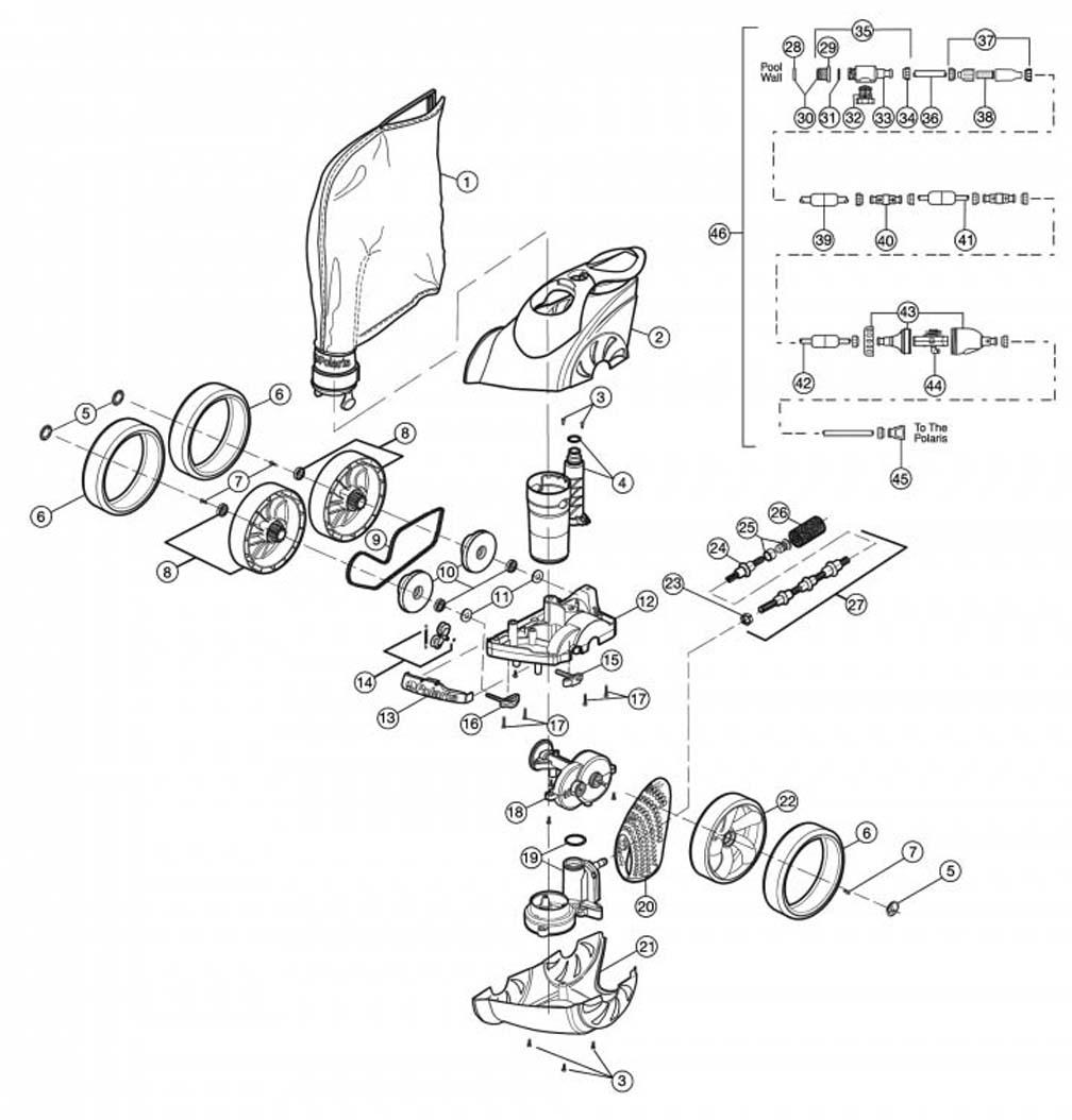 Polaris 3900 Sport Replacement Parts 1989 Dodge Shadow Wiring Diagram