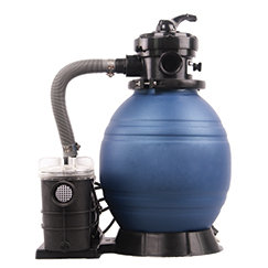 Blue Torrent 14 Quot Above Ground Pool Sand Filter With 1 3 Hp