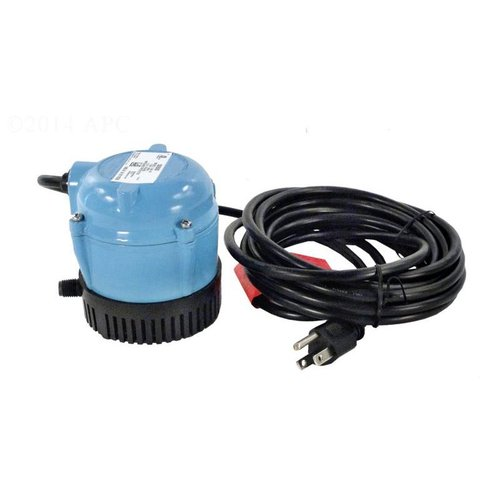 Little Giant Pool Cover Pump With 18 Cord 170 Gph 115v