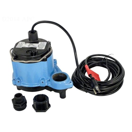 Little Giant 6cimr Big John Sump Pump With 25 Cord 2750