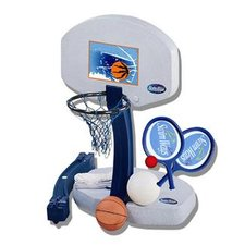 3-in-1 poolside basketball game set
