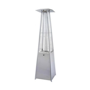 Az Patio Heaters HLDS01 GTSS Designer Quartz Glass Tube Patio Heater,  Stainless Steel